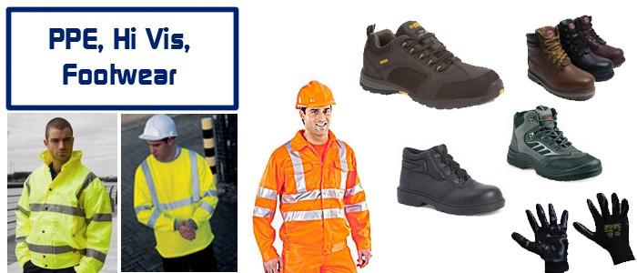 PPE, Hi Vis & Footwear